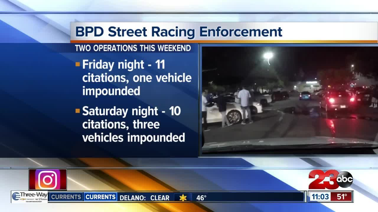 Four Cars Impounded As Result Of Street Racing Operation