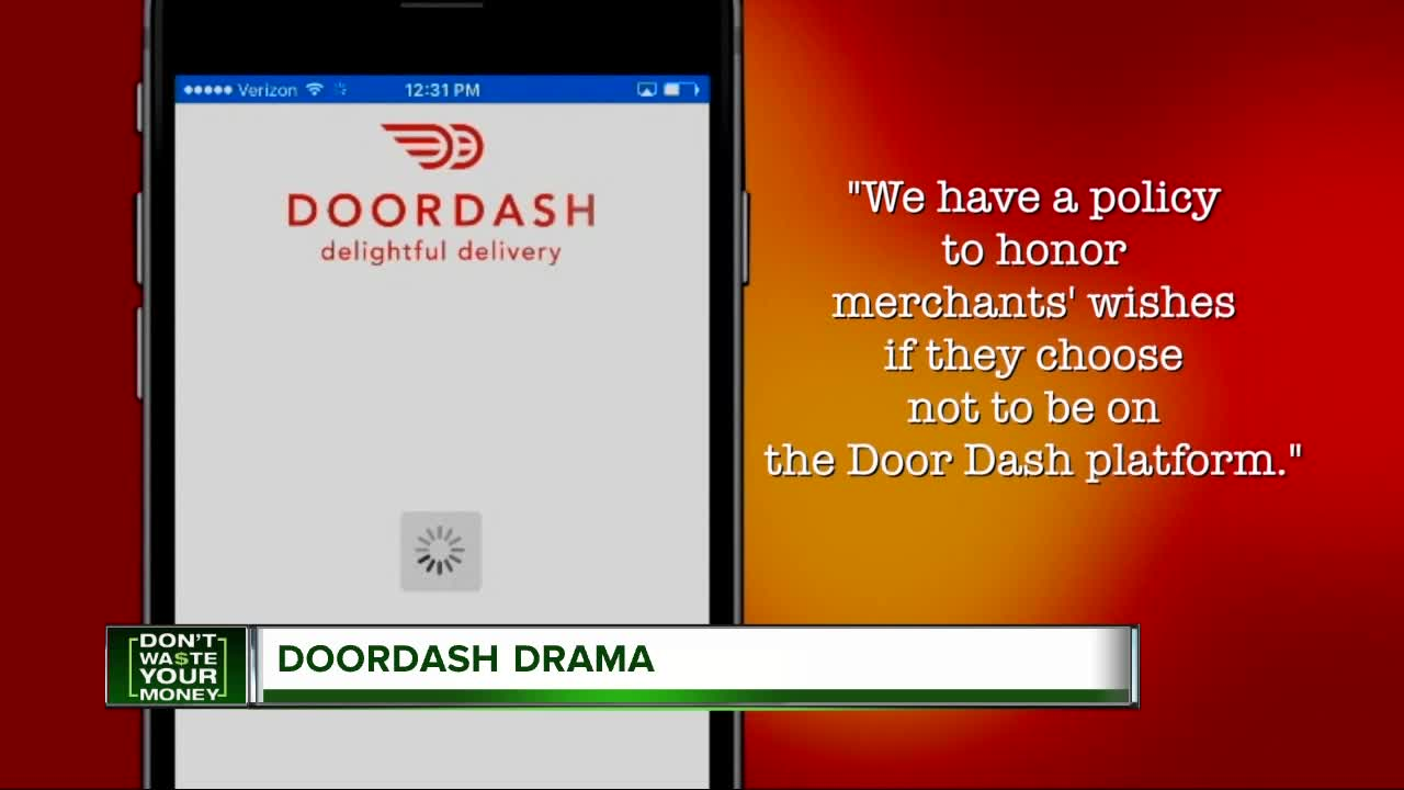 DoorDash is delivering food without permission, restaurant says