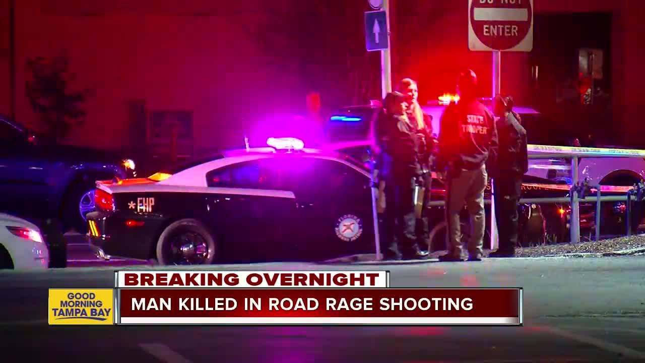 Man dies after road rage shooting in Land O' Lakes