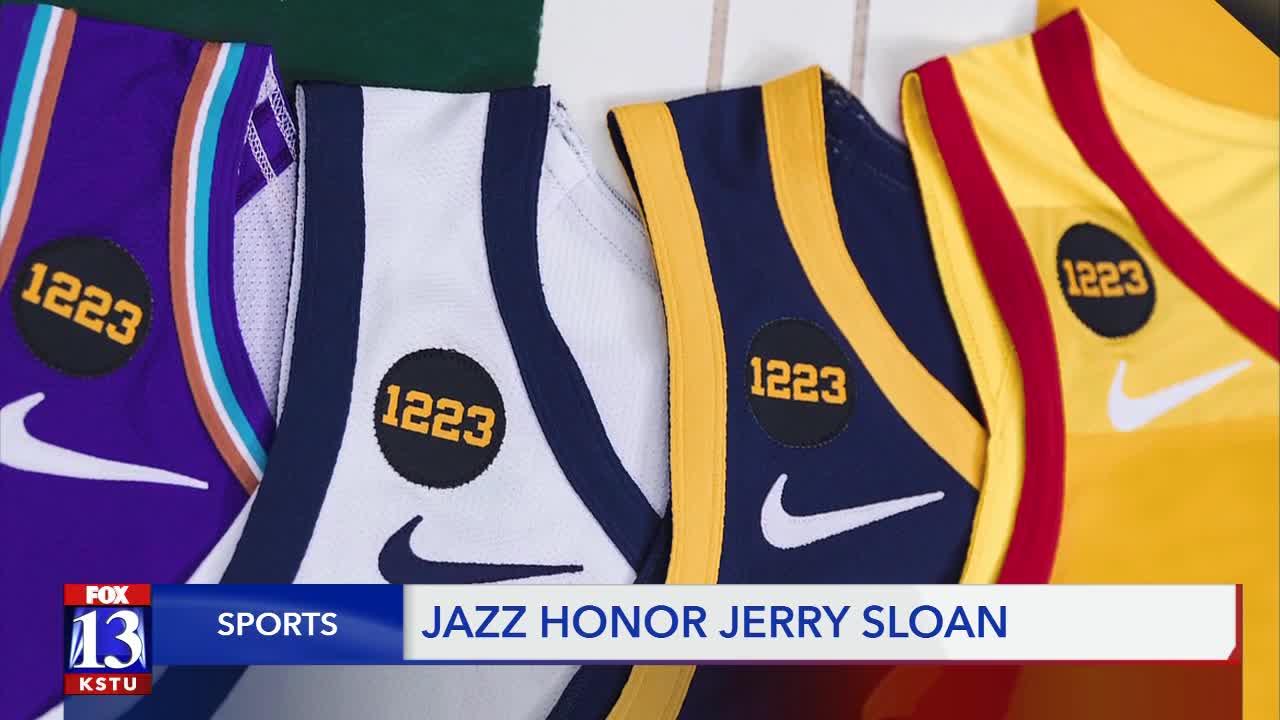 utah jazz jersey history
