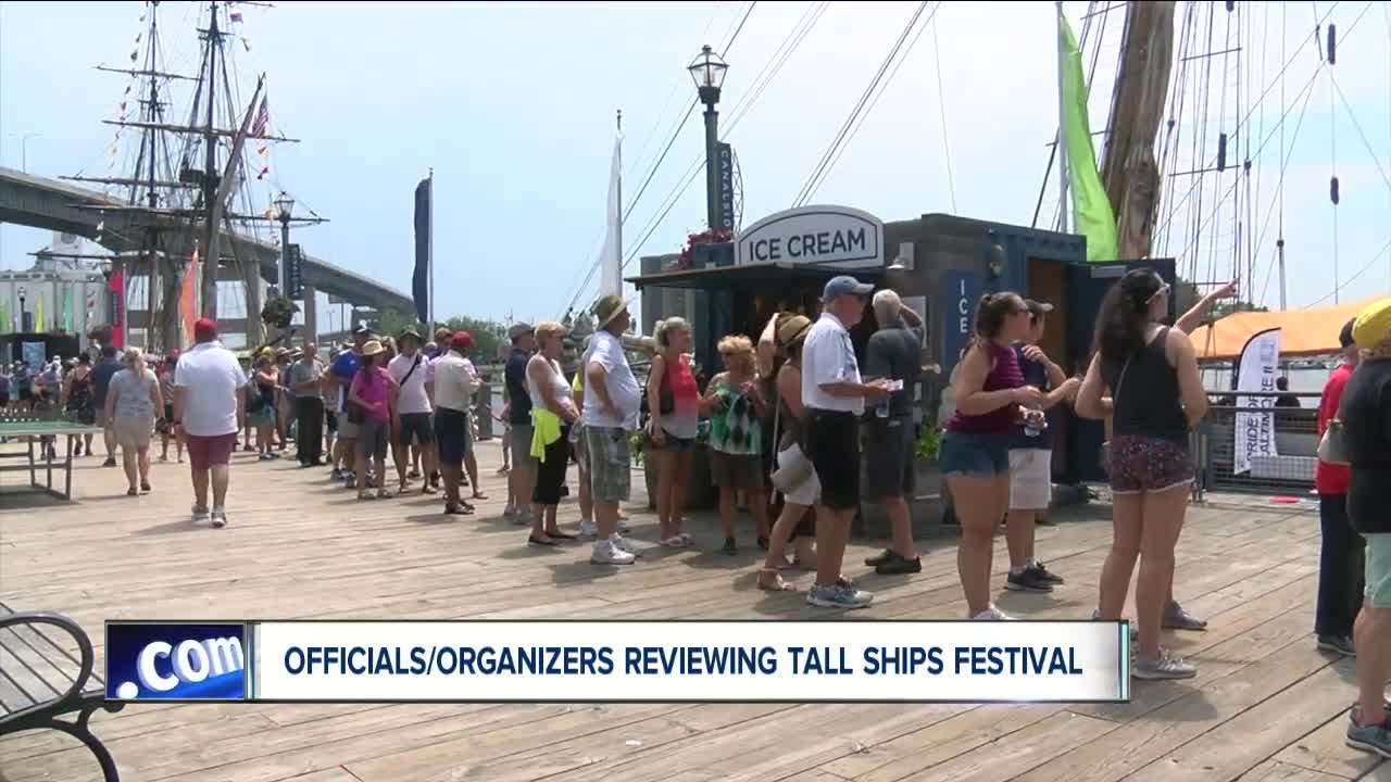 The tall ships are leaving as organizers look at making the