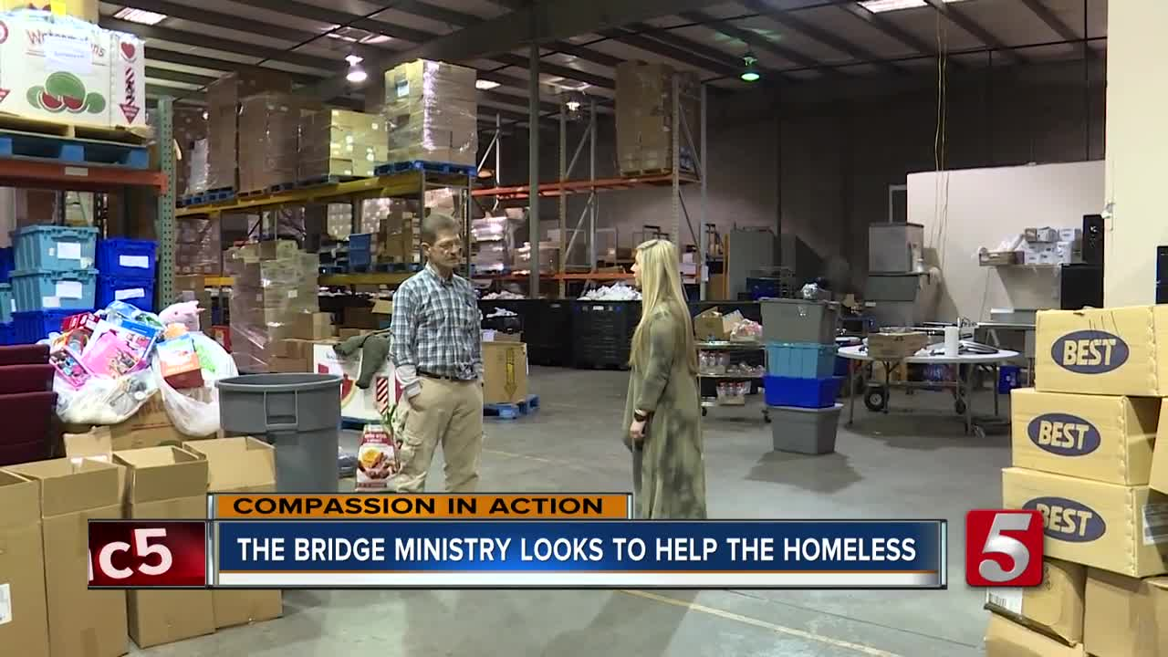 The Bridge Ministry helps feed Nashville homeless
