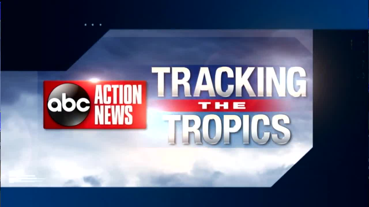 ABC Action News tracks tropical developments in the Atlantic