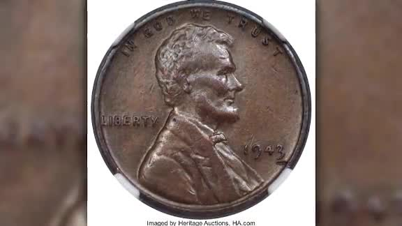 Rare 1943 bronze Lincoln penny sells for big money