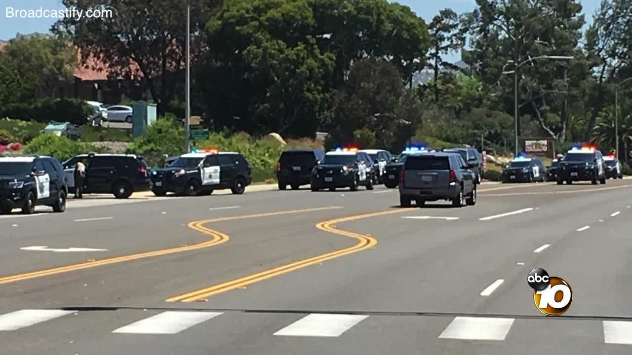 Audio reveals moment authorities were called to Poway