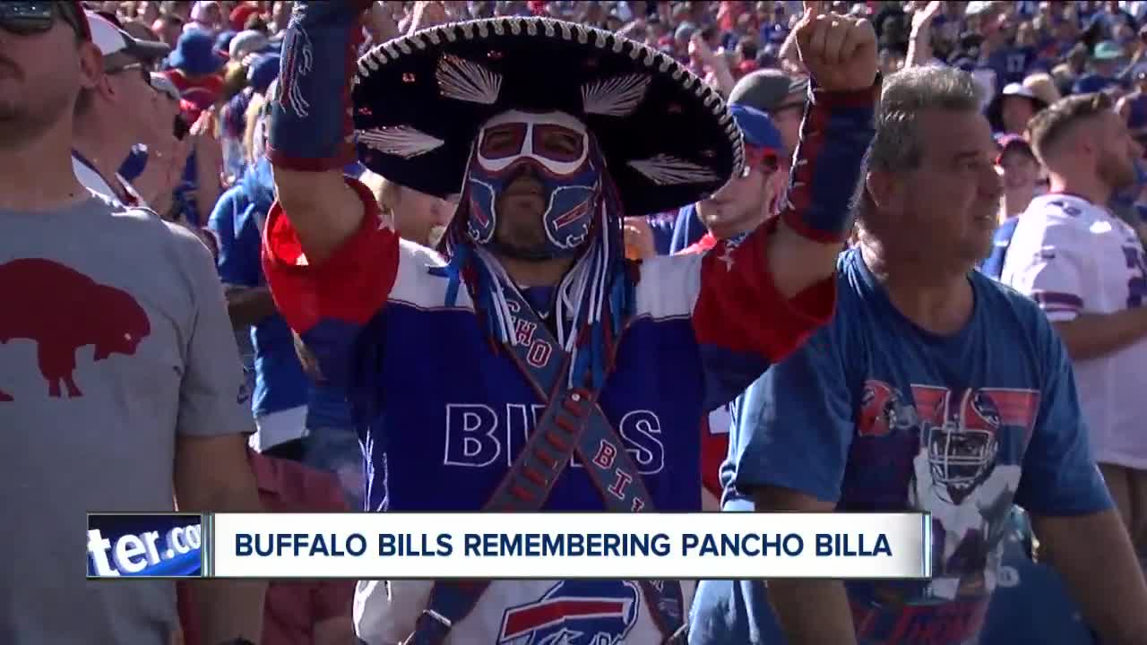 Bills players, owner react to passing of Pancho Billa
