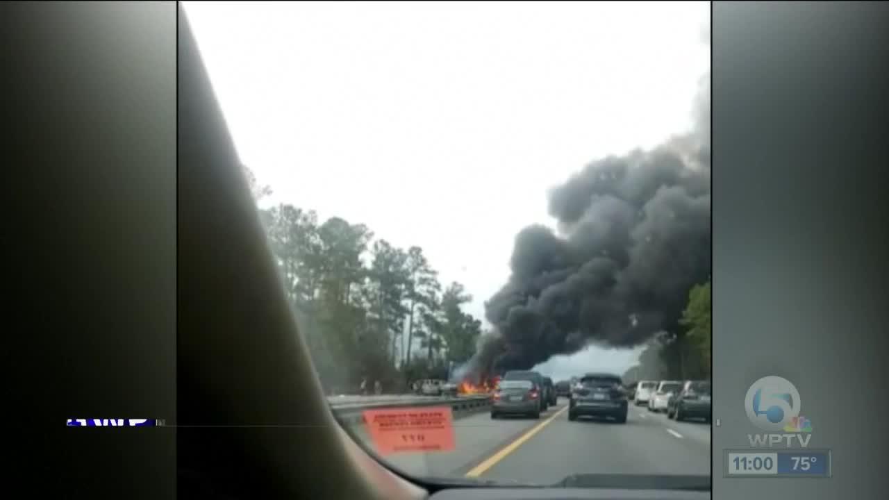 5 children heading to Disney killed in fiery crash on I-75