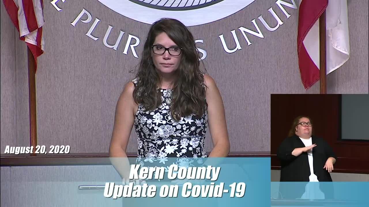 Kern County Public Health Thursday briefing recap