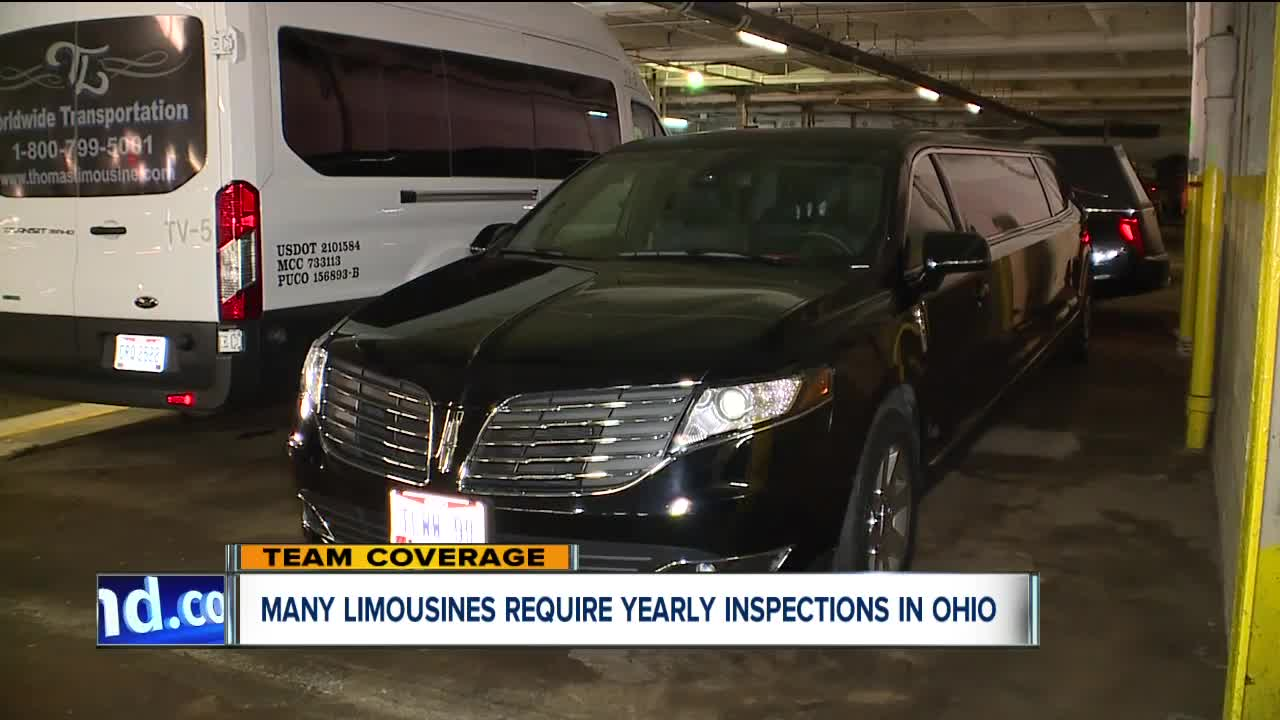 Ohio state troopers inspect thousands of limousines, party