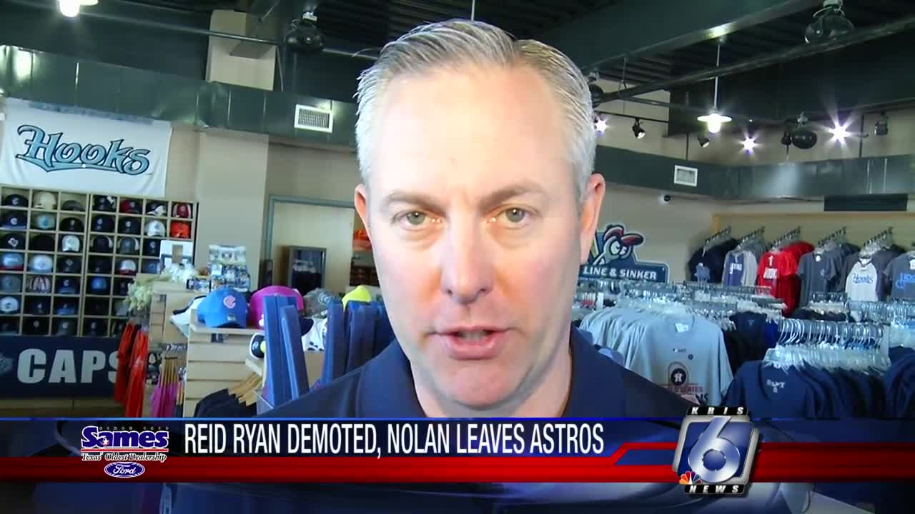 Reid Ryan, Nolan Ryan out of key positions with Astros
