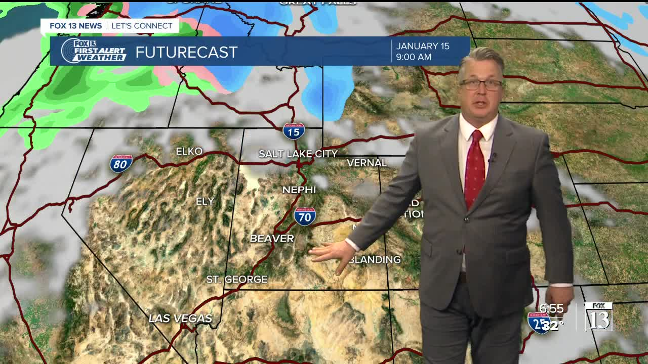 Rain and cold temperatures will greet you as you start your week