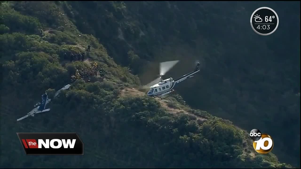 Pilot killed, passenger hurt in Oceanside-area plane crash