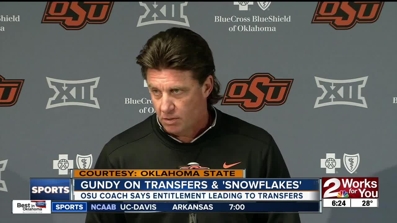 Mike Gundy announces transfer of sophomore safety: 'I'm a