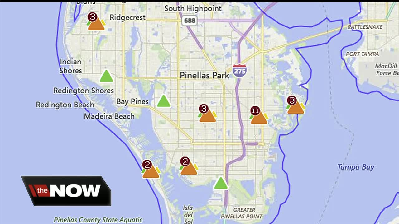 Large Duke Energy Power Outage Disrupts Traffic Signals In St Pete