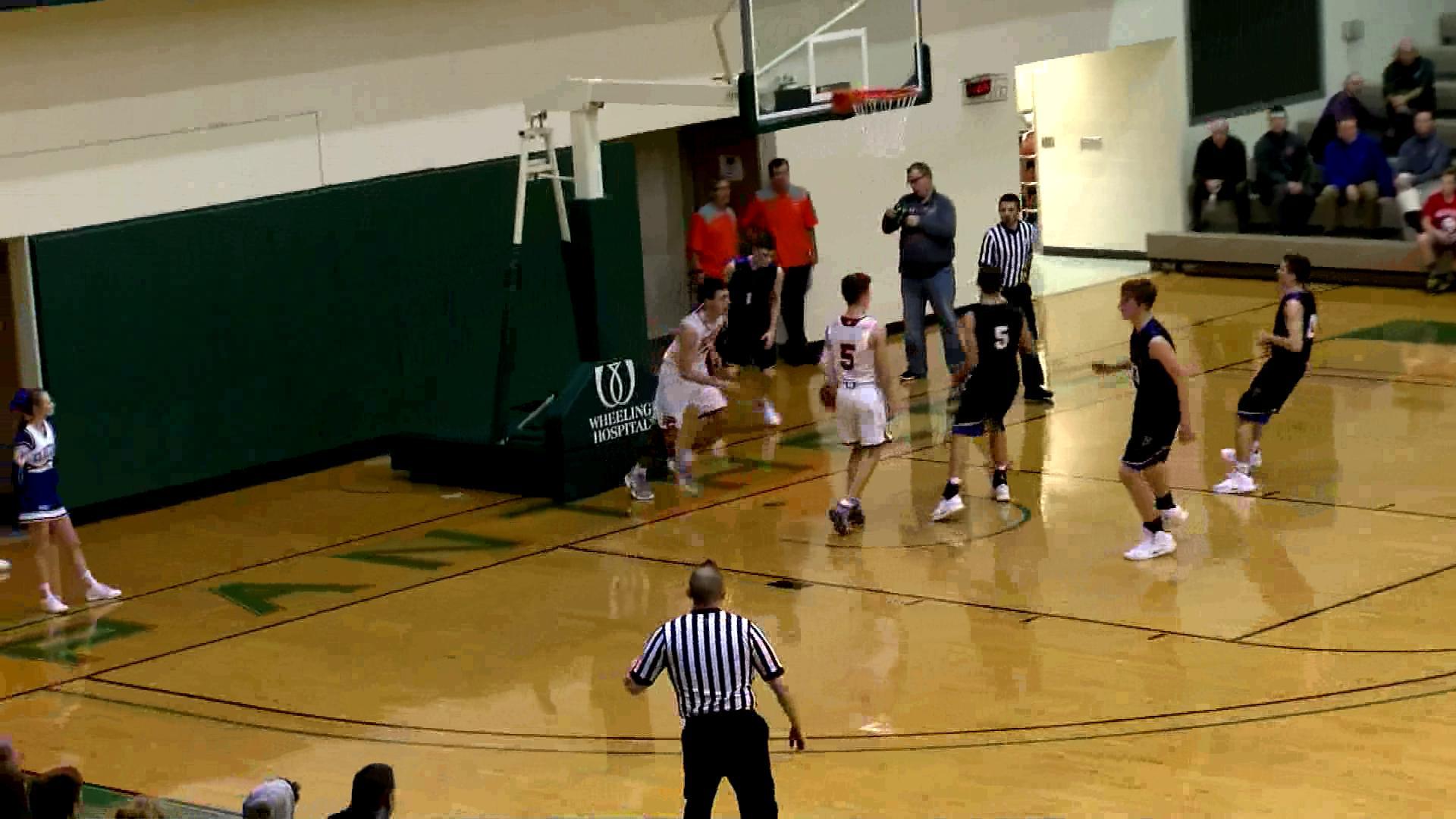 12.22.18 Highlights: St. Clairsville vs. Philo - boys basketball
