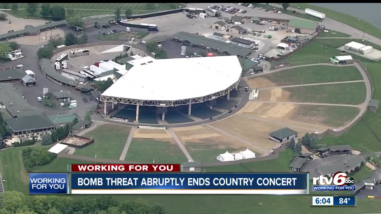 Rascal Flatts Concert At Ruoff Home Mortgage Music Center Ends