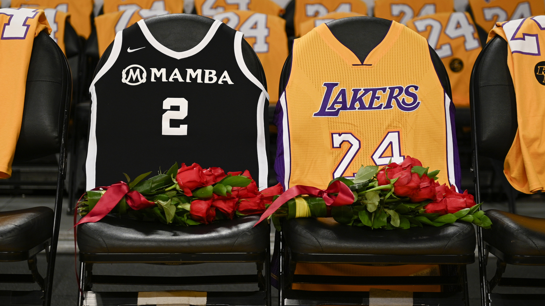 Kobe and Gianna Bryant celebrated on 2/24 in honor of jersey ...
