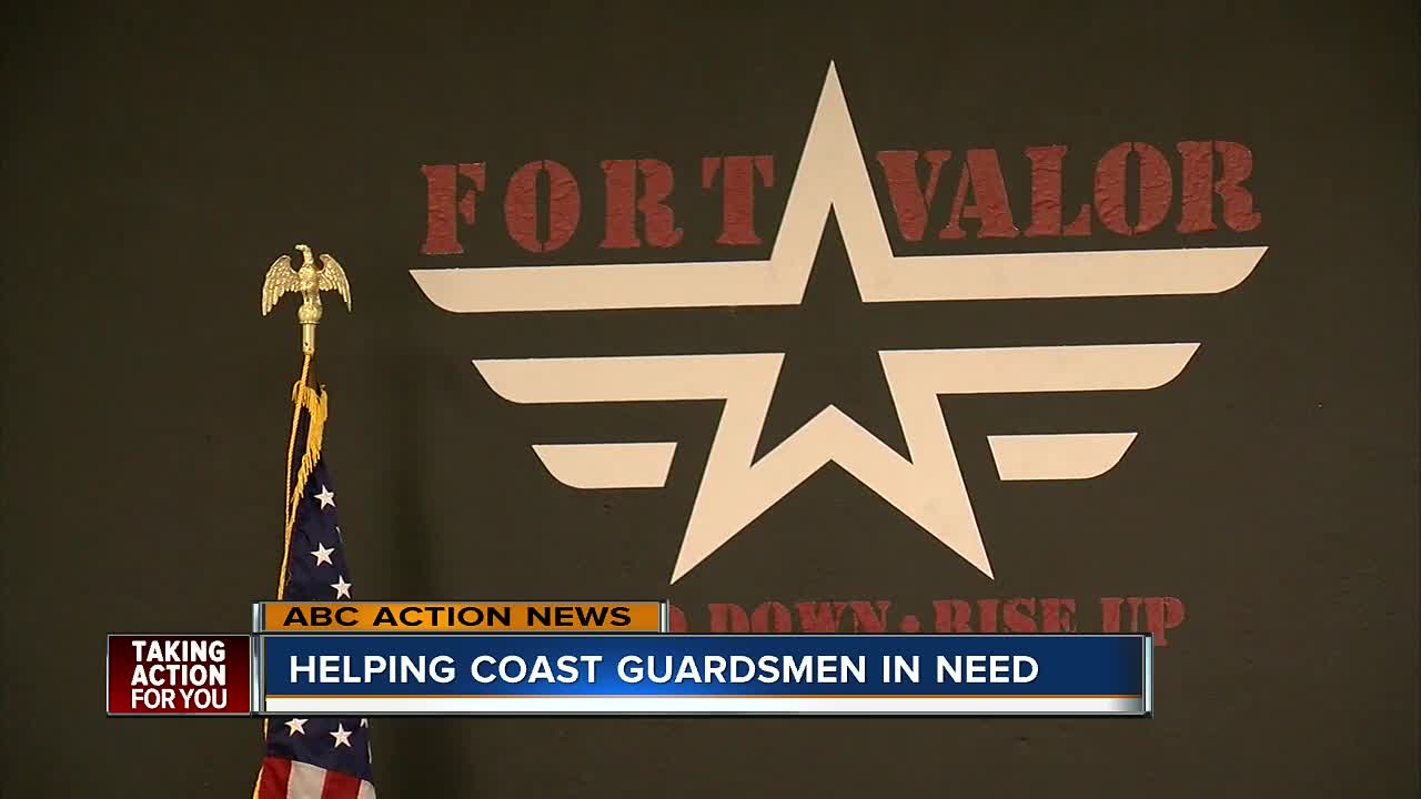 Local vets raise money to help federal employees during the