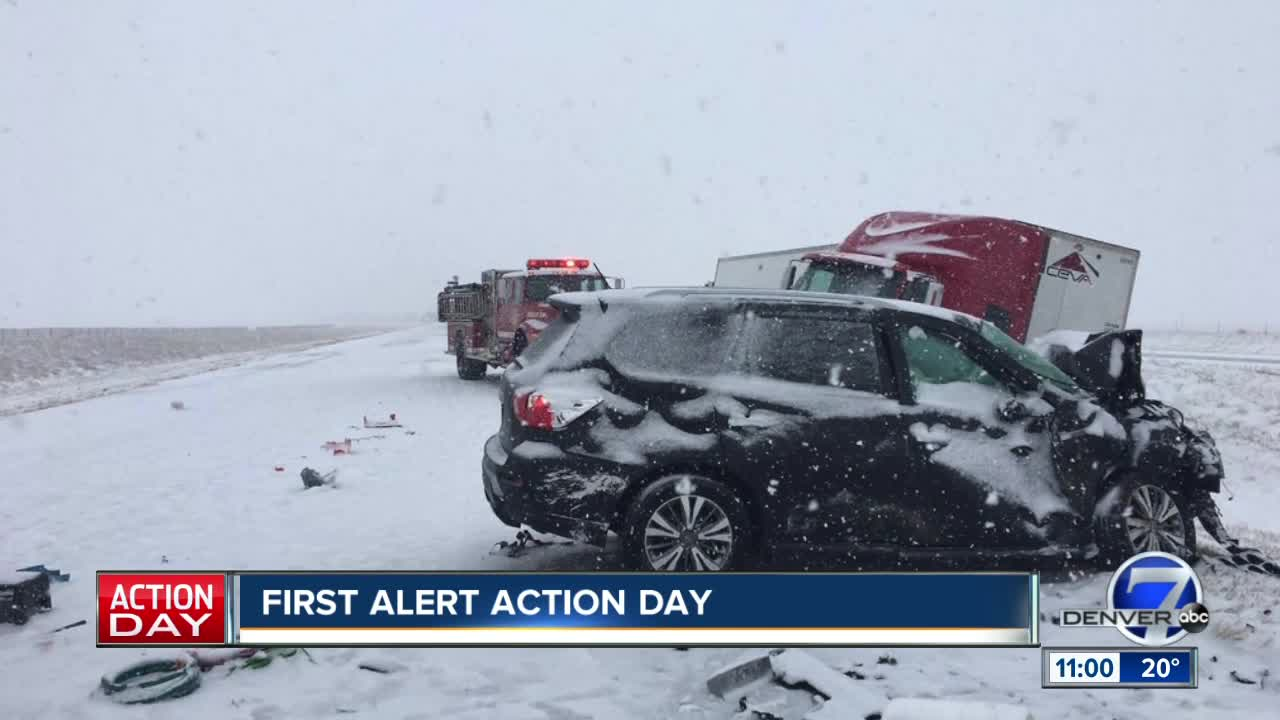 Live Colorado traffic updates as another round of snow arrives
