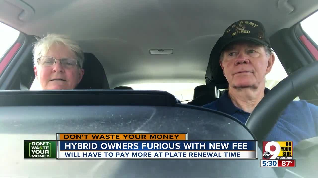 Hybrid owners furious with new annual fees