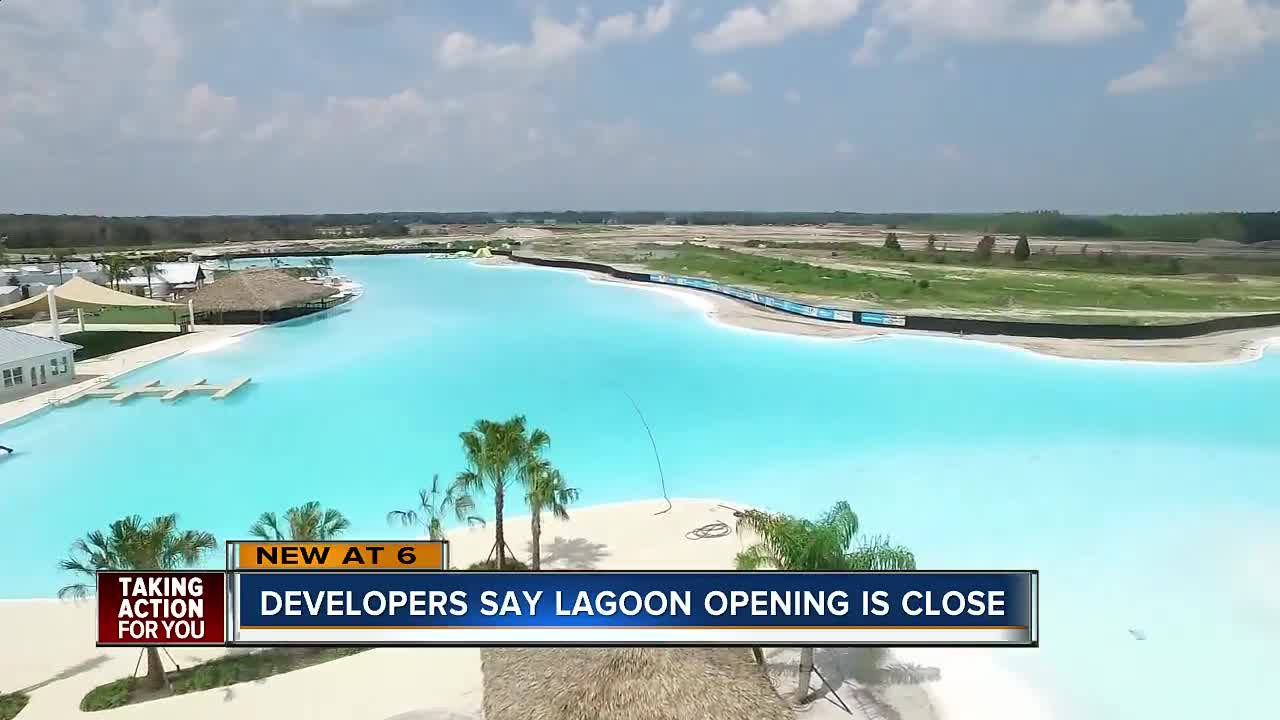 Wesley Chapel's Crystal Lagoon expects to open by fall