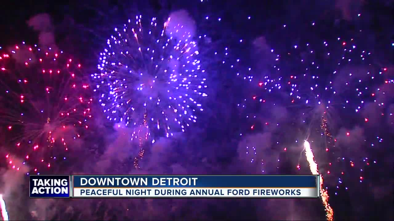 Here's the list of fireworks shows happening in metro Detroit