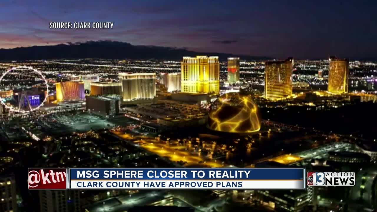 Clark County Commission approves MSG Sphere decommissioning plan ...