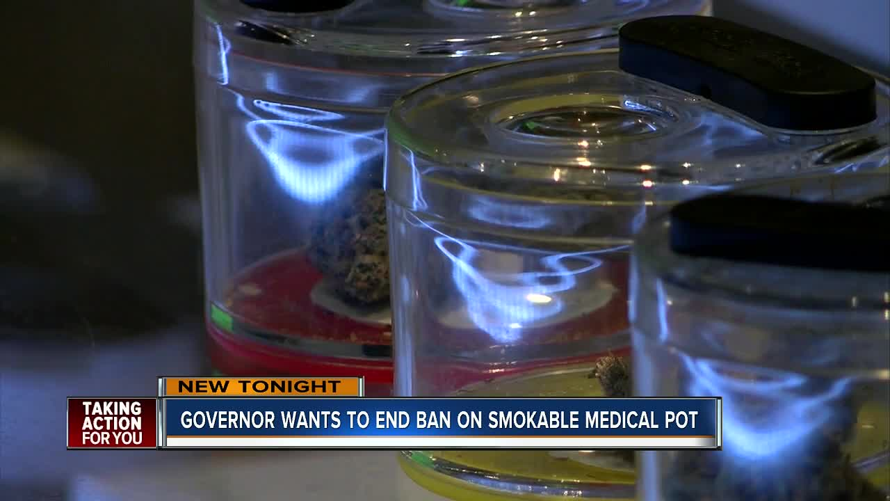 Florida governor backs snuffing ban on smoking medical marijuana