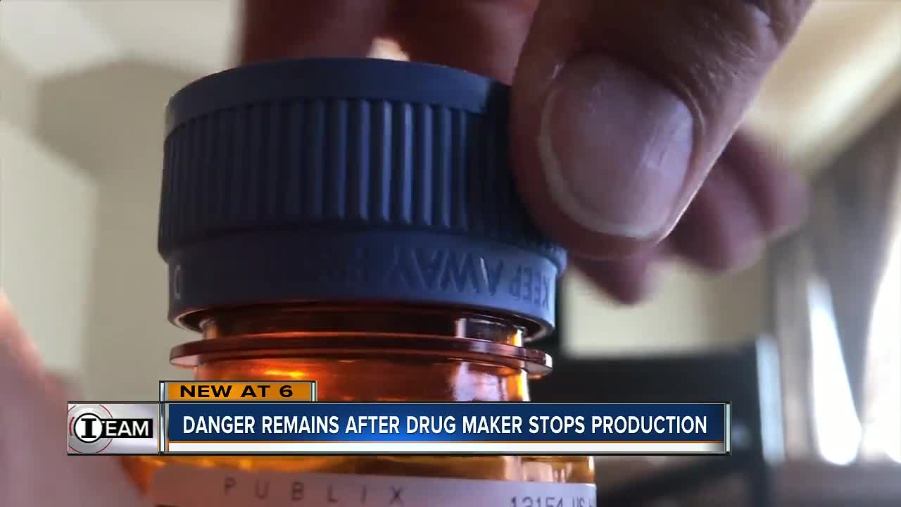 Drug maker halts production of antibiotic Levaquin with