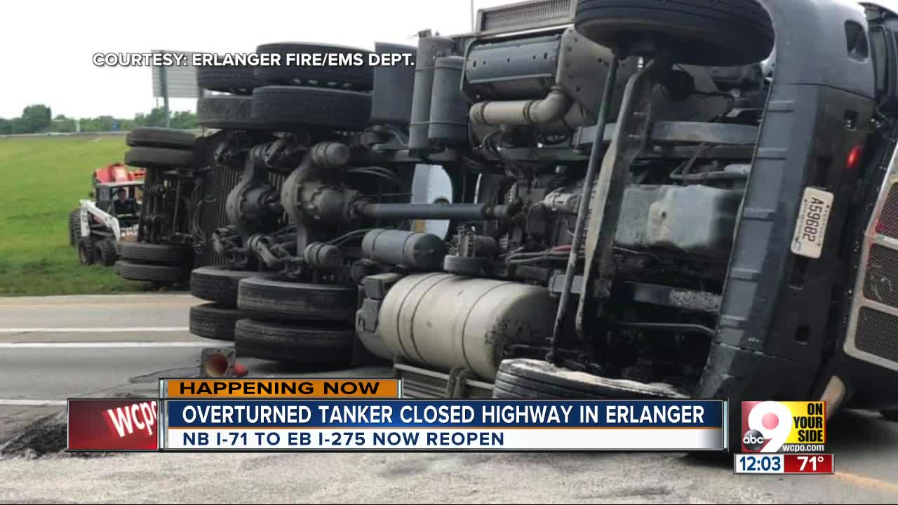 All lanes reopened to drivers after Kenton County semi crash