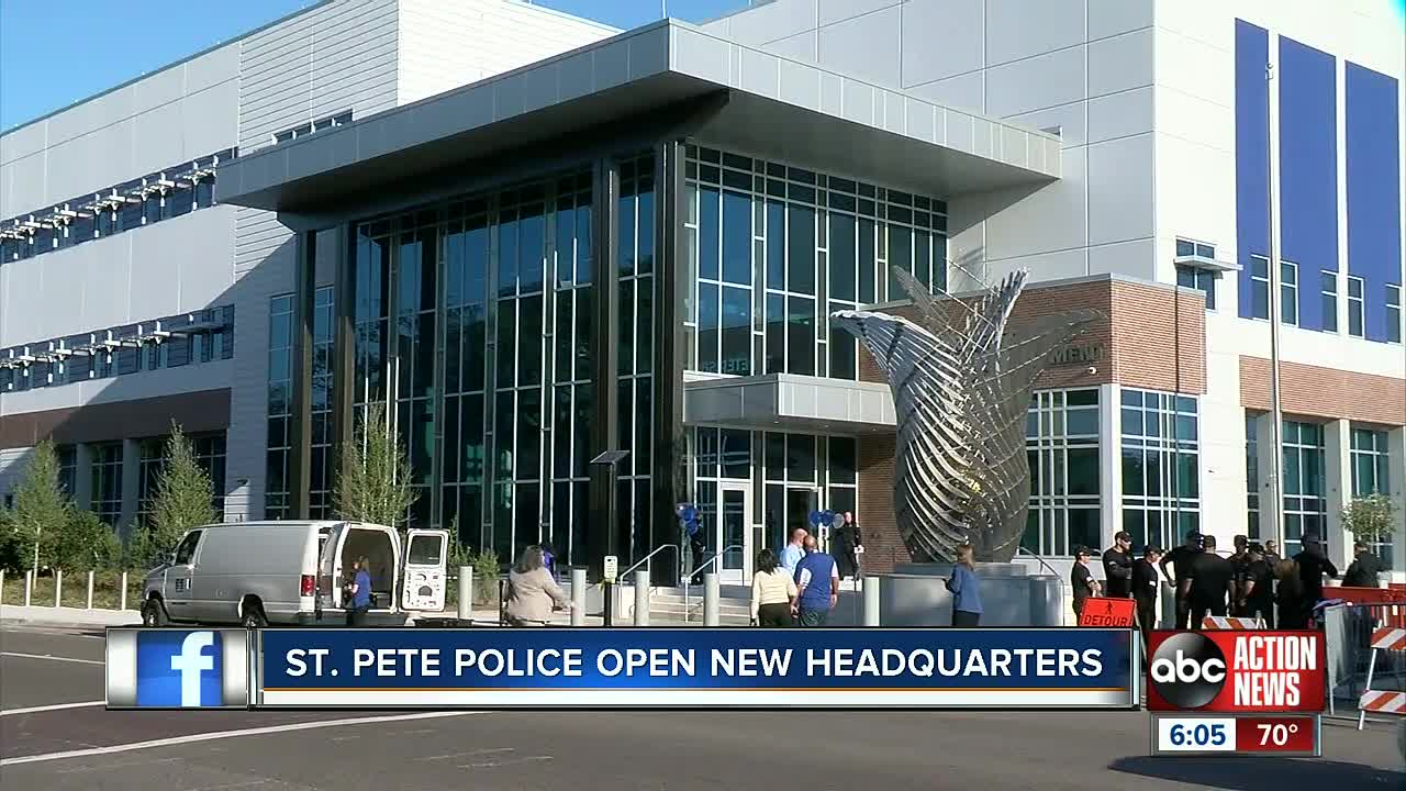 St  Pete Police unveil new $78 5 million headquarters