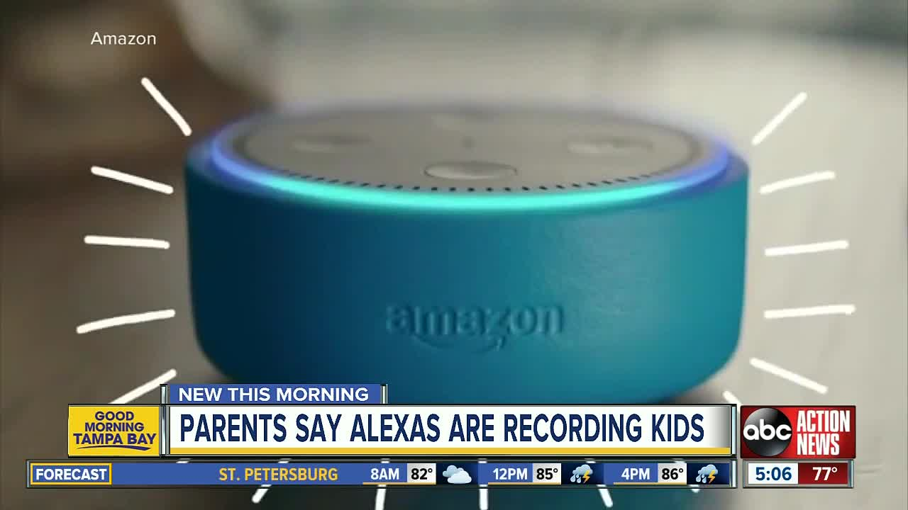 Amazon's Alexa invites lawsuit over recording children's voices via Echo Dot