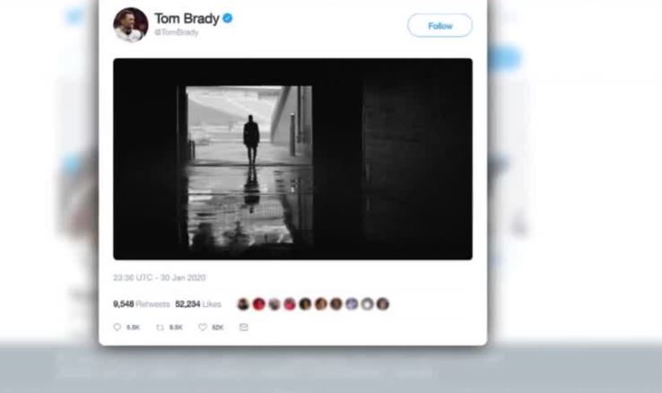 Patriots QB Tom Brady shares motivational message in latest Instagram story