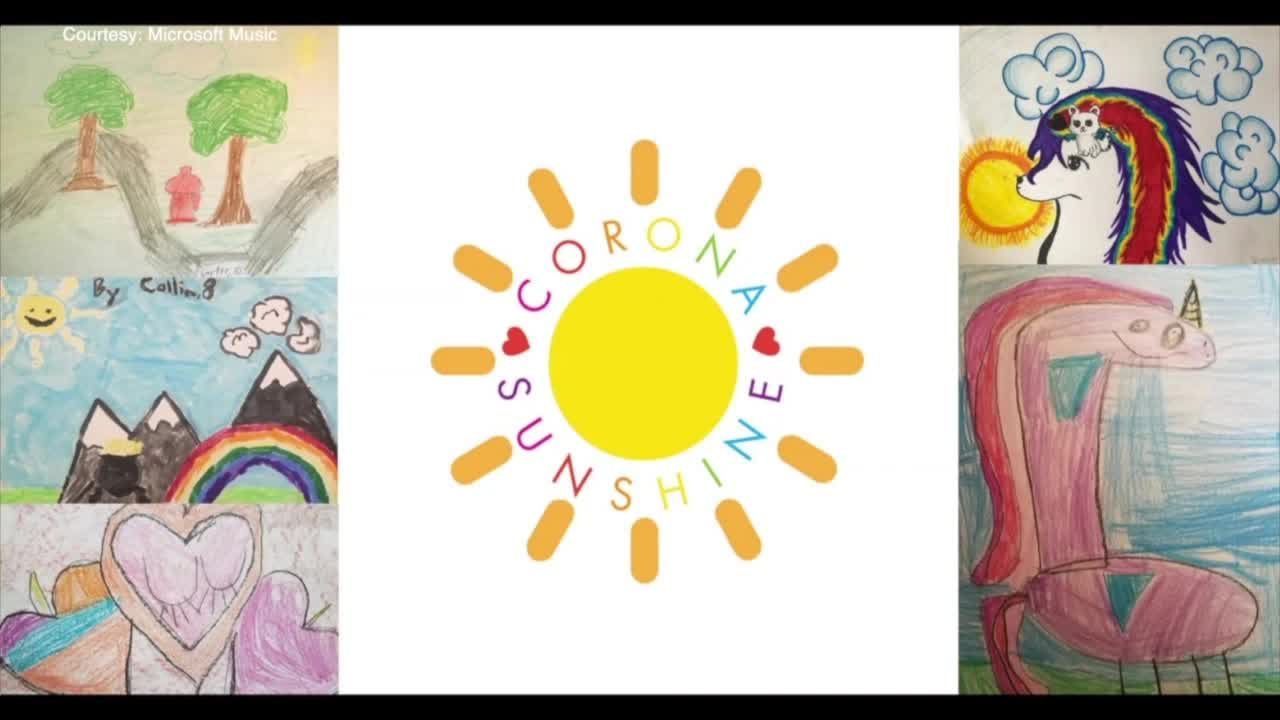 Corona Sunshine Florida Moms Start Facebook Group To Share Art Made By Kids At Home During Pandemic