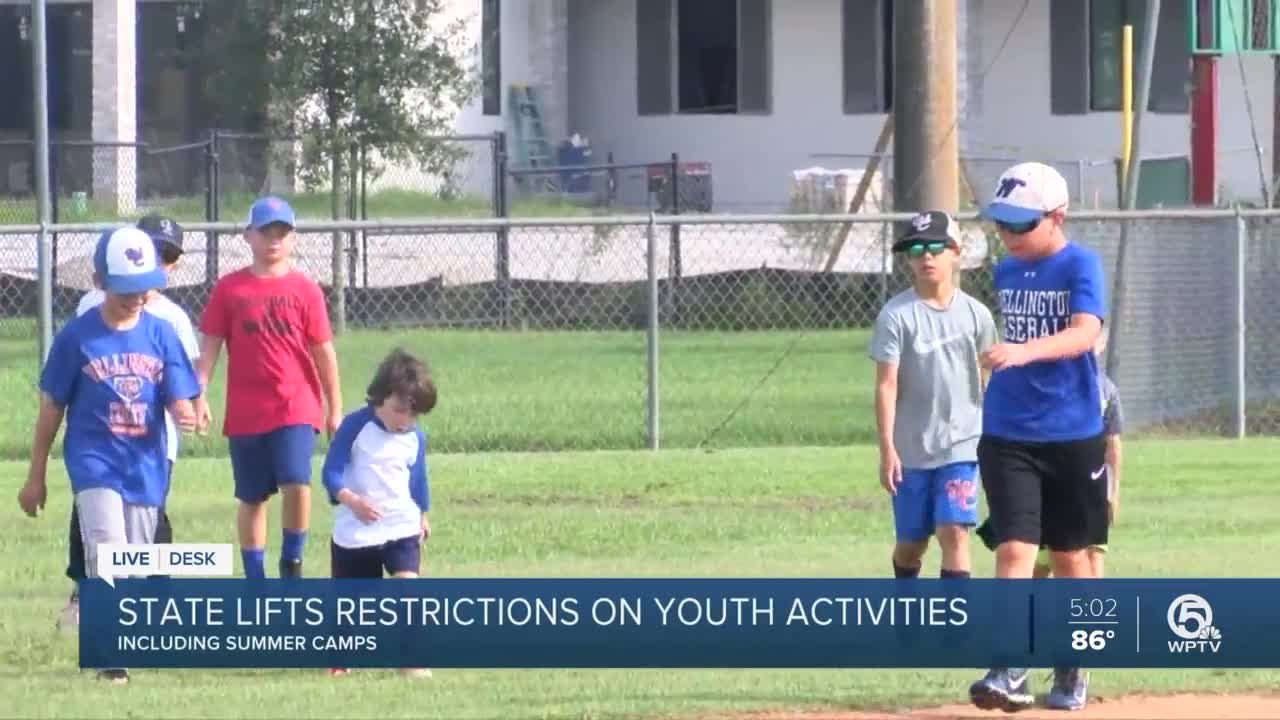 Just in time for summer Florida is lifting all restrictions on youth activities effective immediately including athletics and summer camps