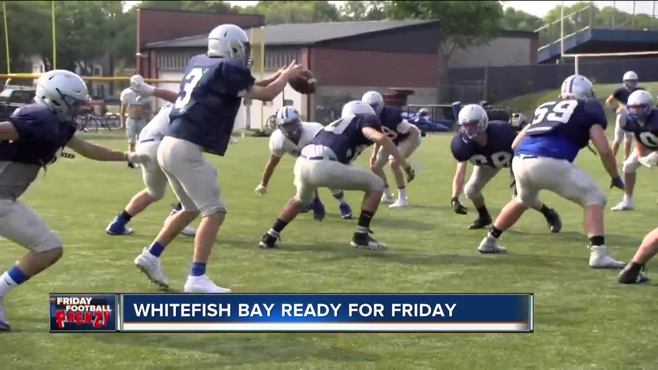 TMJ4 Football Frenzy: 2018 Blue Dukes | Whitefish Bay Blue