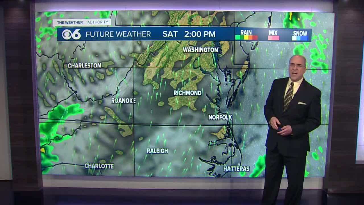 Widespread soaking rain showers move in tonight