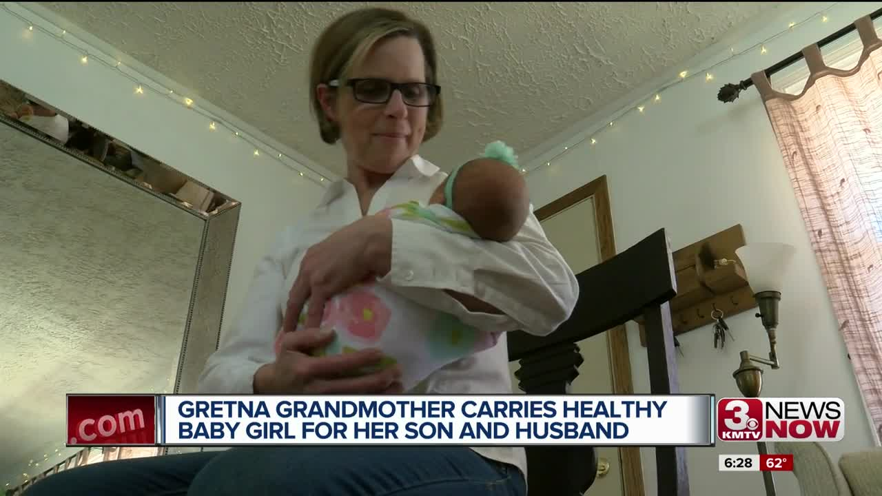 61-year-old woman gives birth to her own granddaughter