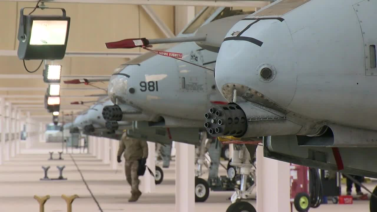Arizona Air Force Base >> A 10 Is Synonymous With Davis Monthan And Absolutely Arizona