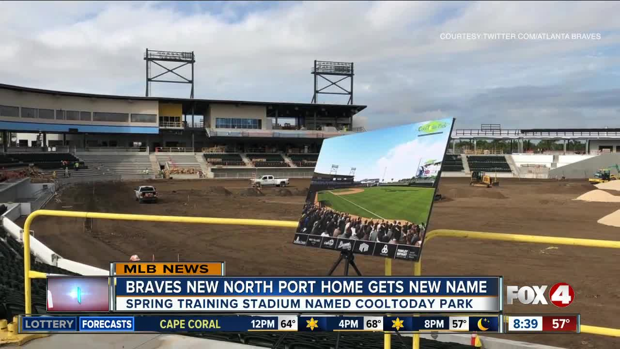 braves' new spring home to be known as cooltoday park