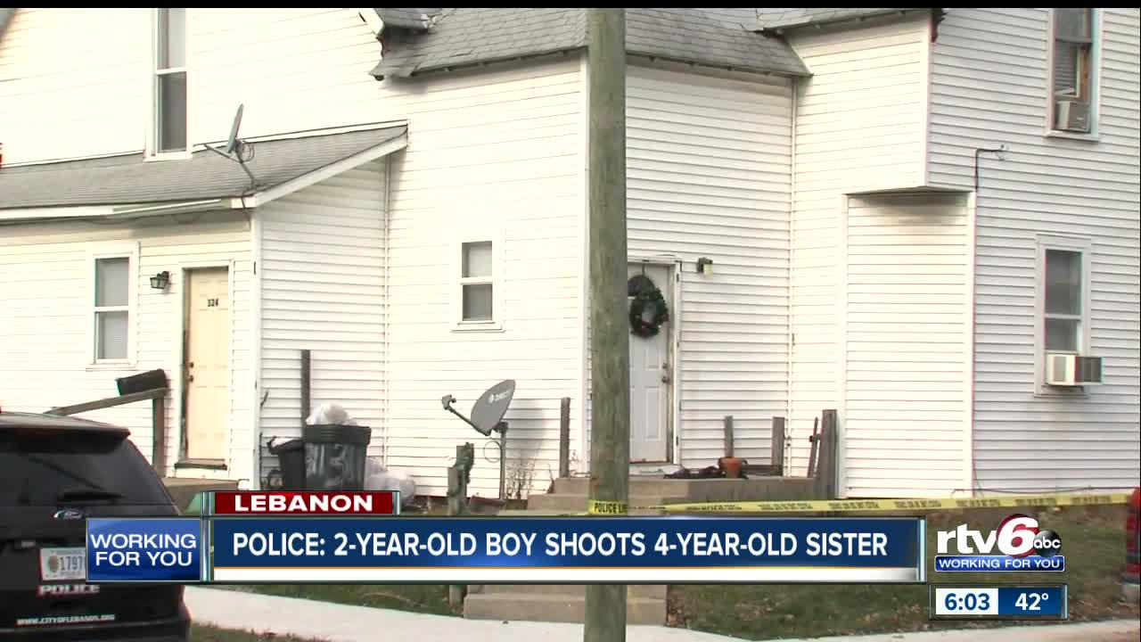 2-year-old accidentally shoots 4-year-old sister in Lebanon