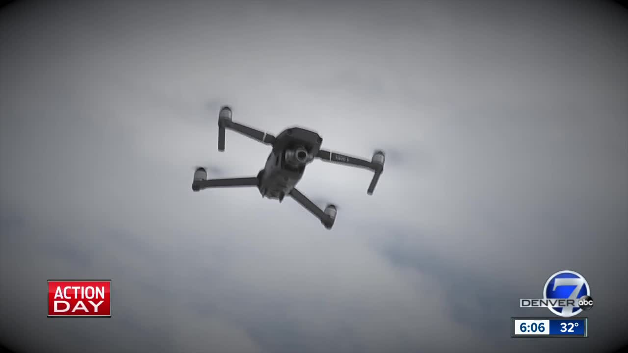 Who is flying drones nightly over northeastern Colorado?