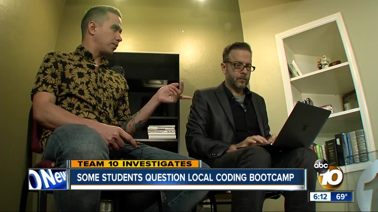 Some students question local coding bootcamp