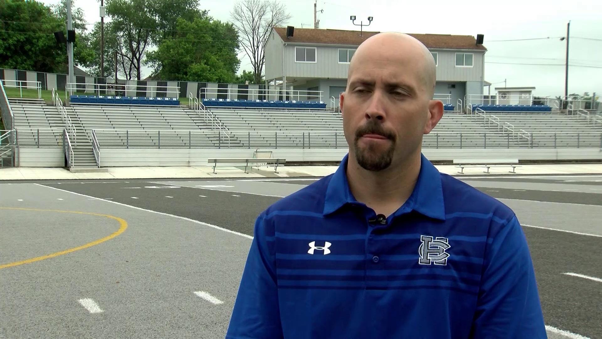 Coach Anthony Hayes