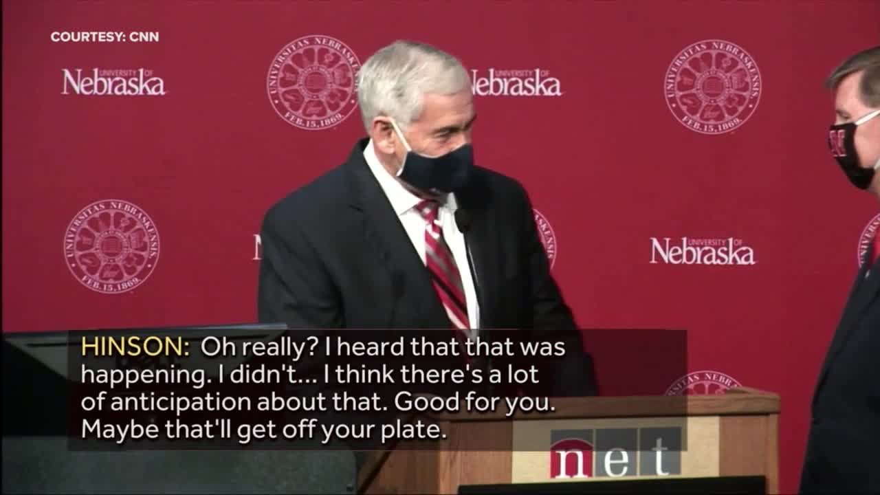 Univ. of NE Pres: Announcement coming regarding Husker ...