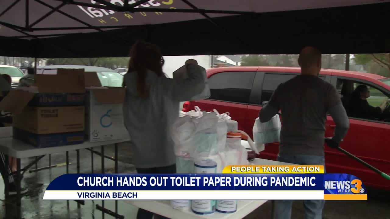 Local Church Helps Wipe Away Anxiety In