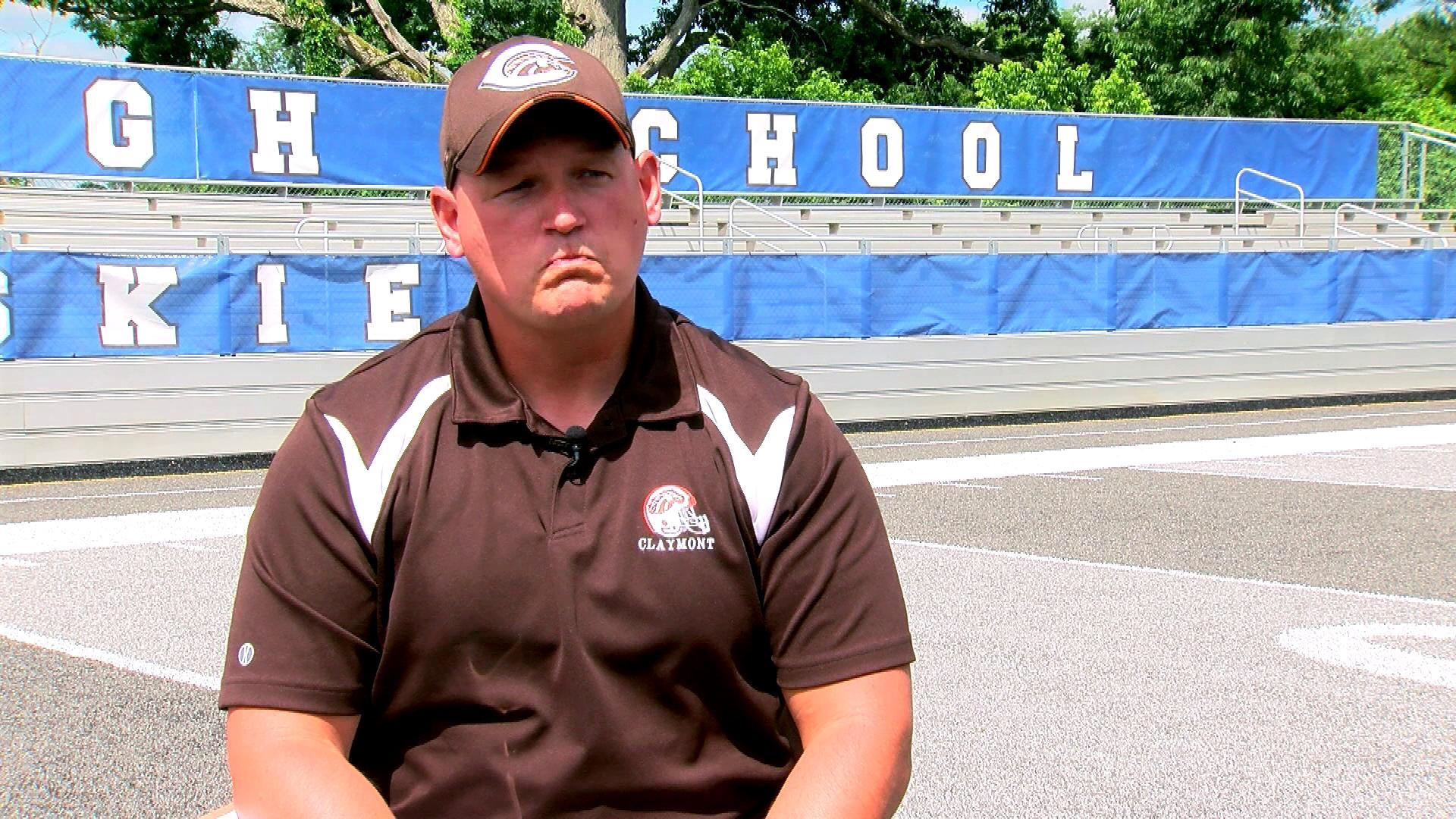 Coach Jonathan McCluskey
