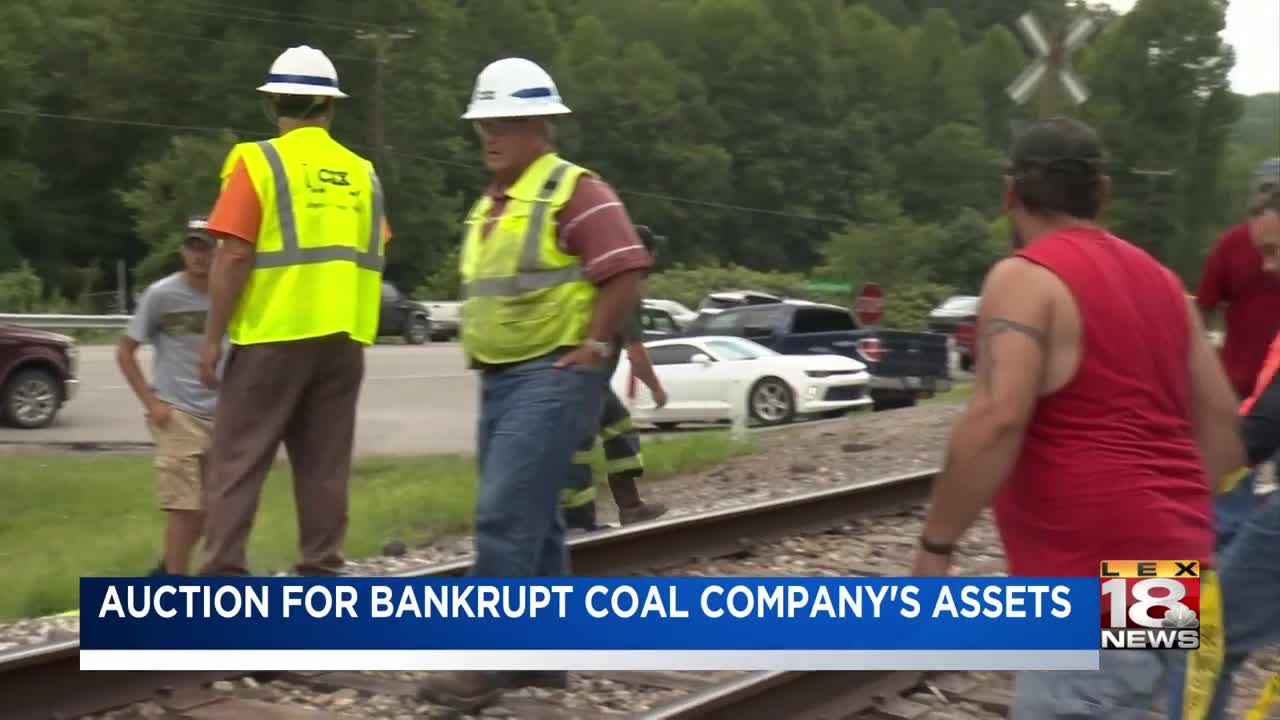Auction set for bankrupt coal producer Blackjewel's assets