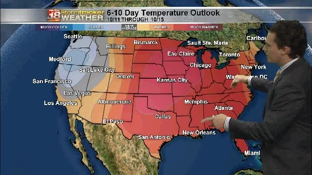 A Pattern Change Pulls 70 S Back Into The Forecast