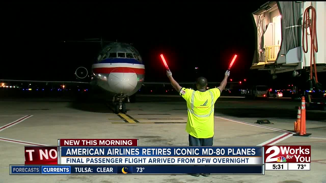 End of an era: American Airlines retires MD-80